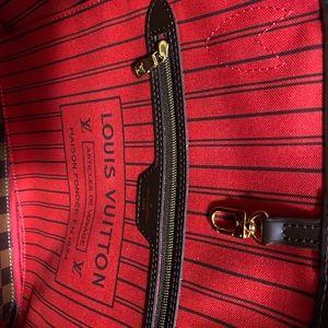 Authentic Louis Vuitton NeverfullMM-Damier Ebene